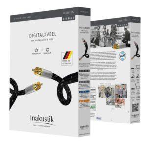 Inakustik Exzellenz Digital Cable RCA 0.75 m (006044007)