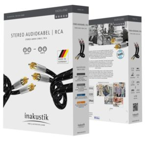 Inakustik Exzellenz Stereo Cable RCA 0.75 m (006041007)