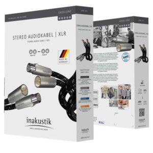 Inakustik Exzellenz Stereo Cable XLR 0.75 m (006050007)