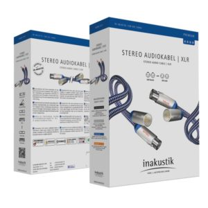 Inakustik Premium Audio Cable XLR 0.75 m (00405007)