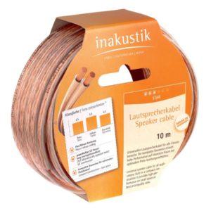 Inakustik Star LS cable 2 x 0.75 mm2, 10 m (003020010)