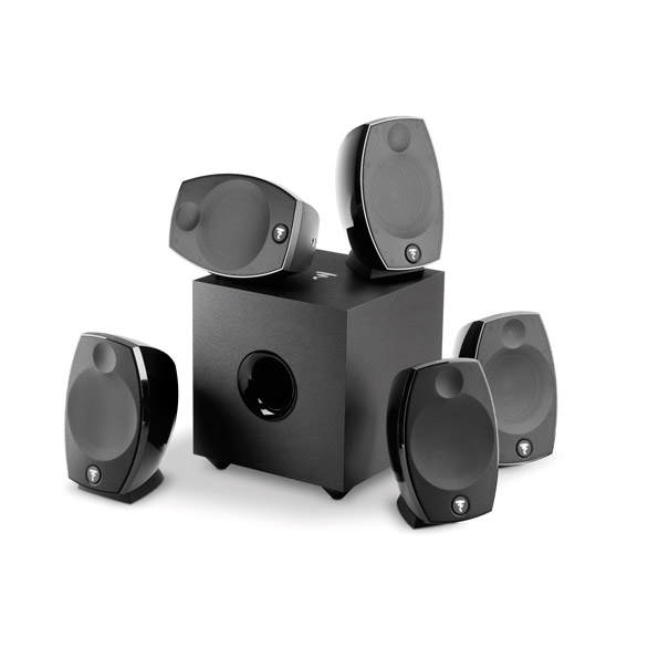 Focal Sib Evo Pack 5.1 black