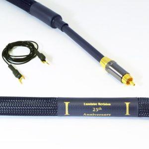 Purist Audio Design 25th Anniversary Phono Cable RCA-RCA Luminist Revision