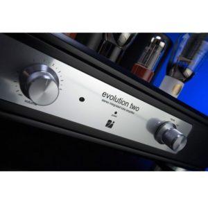 Trafomatic Audio Evolution Two black/silver plates