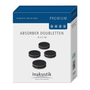 Inakustik Premium Doublette 4 pcs black (008509)