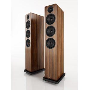 Acoustic Energy AE120 Walnut vinyl veneer