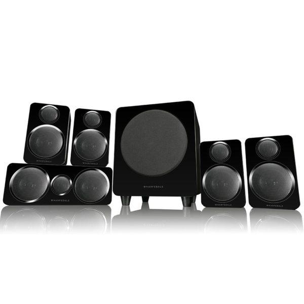 Wharfedale Moviestar DX-2 5.1 HCP System black
