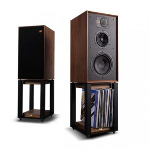 Wharfedale 85th Anniversary Linton with stands Walnut