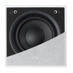 KEF Ci200QSB Square In-Wall Subwoofer