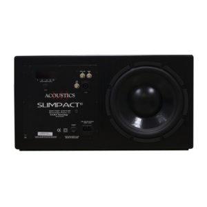 MJ Acoustics Slimpact 10 Black Ash