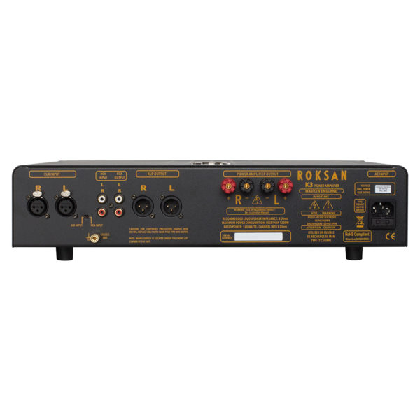 Roksan K3 Power Amplifier Anthracite