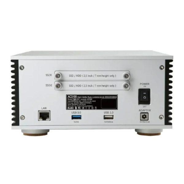 Aurender ACS100 4TB Silver