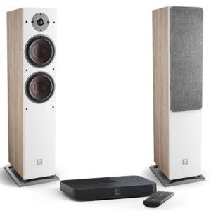 Dali Oberon 7 C light oak + Sound Hub Compact