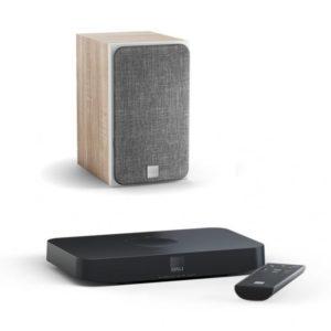 Dali Oberon 1 C light oak + Sound Hub Compact