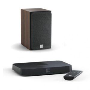 Dali Oberon 1 C dark walnut + Sound Hub Compact