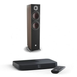 Dali Oberon 7 C dark walnut + Sound Hub Compact