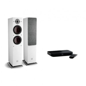 Dali Oberon 7 C white + Sound Hub Compact